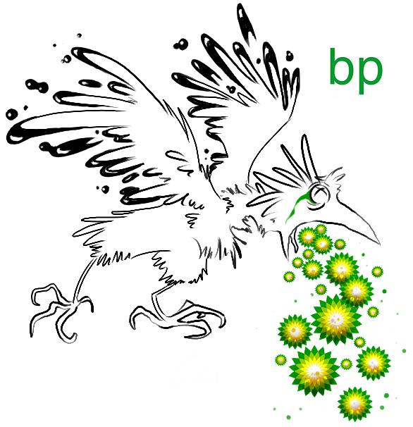 bird throwing up bp logos Rebranding the BP Logo: The 25 Funniest and Most Creative