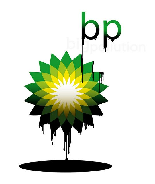 bp logo dripping oil Rebranding the BP Logo: The 25 Funniest and Most Creative