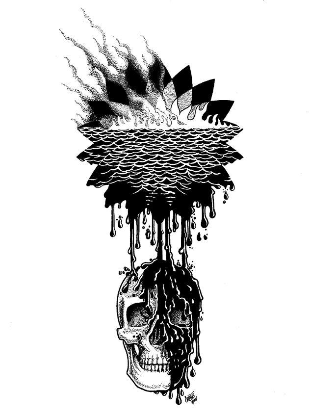 bp logo skull Rebranding the BP Logo: The 25 Funniest and Most Creative