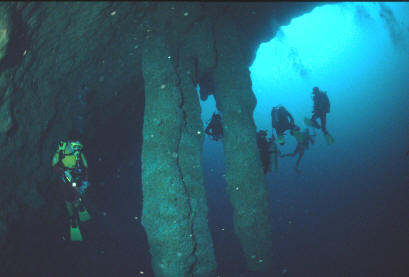 Apologise, but, Great blue hole belize diving well