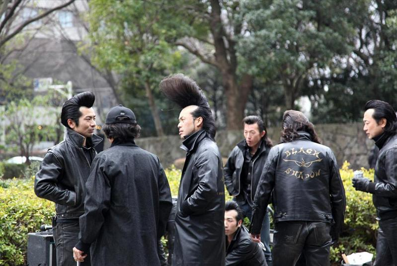 gang of japanese men with amazing hair The Friday Shirk Report   May 28, 2010   Volume 59