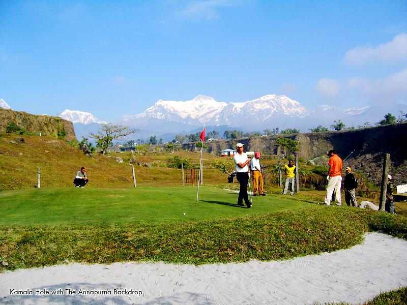 golfing in pokhara nepal The Most Exotic Golf Course in the World