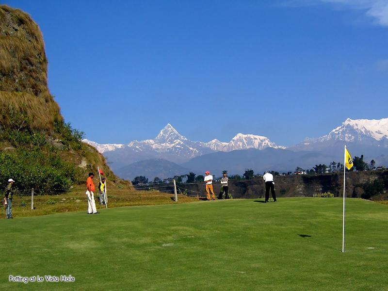 golfing in the mountains The Most Exotic Golf Course in the World
