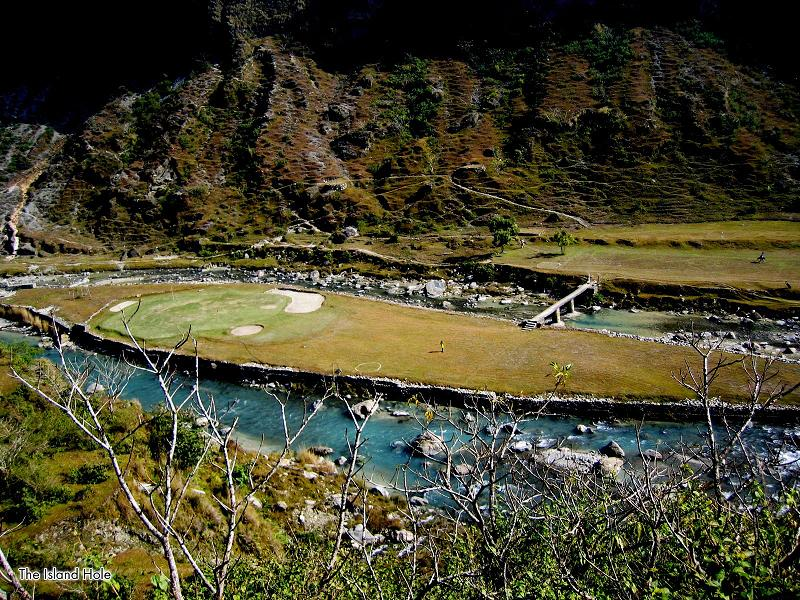 himalayan golf course pokhara nepal The Most Exotic Golf Course in the World