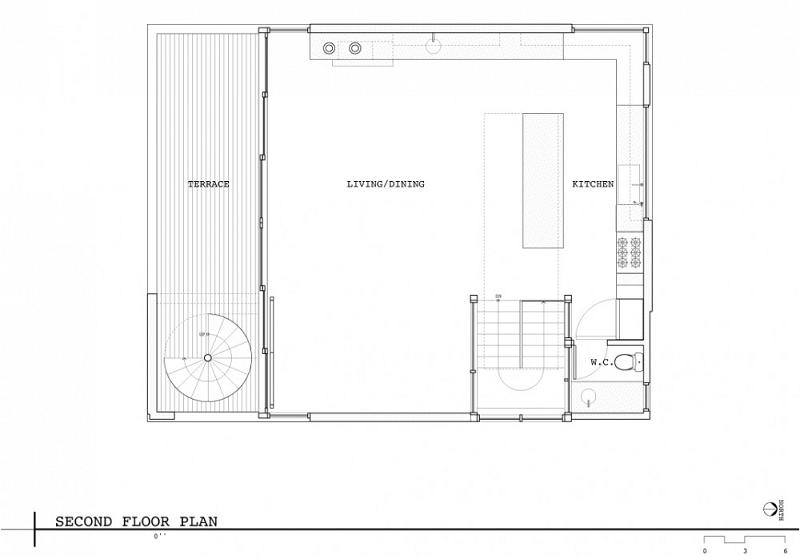 I m on a house boat floating home in lake union for Boat house floor plans