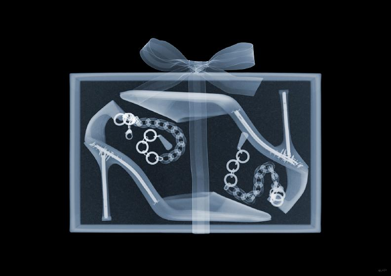 jimmy choo high heels x ray The X Ray Vision of Nick Veasey