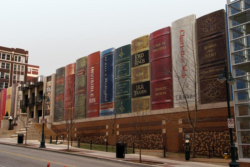 Picture of the Day – Books for Giants