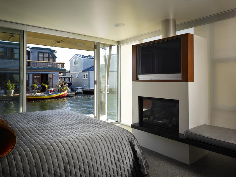 vandeventer and carlander architects Im On A [House] Boat   Floating Home in Lake Union, Seattle