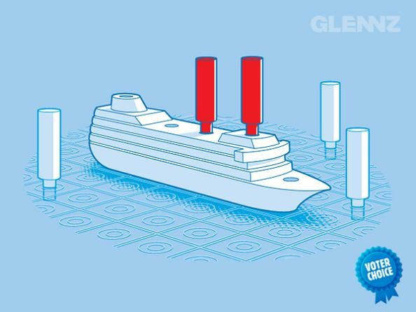 battleship game tee 25 Hilarious Illustrations by Glennz