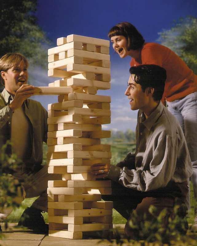 Remember Jenga? This is the House Version ofIt