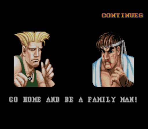 guile after win go home and be a family man Did You Know? Guile Theme Goes with Everything