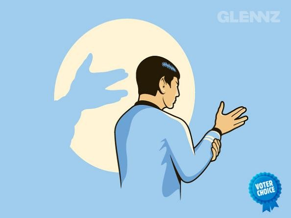 live long and prosper funny 25 Hilarious Illustrations by Glennz