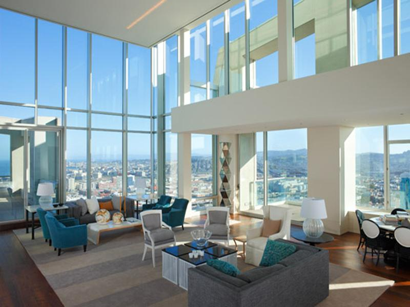 san fran penthouse An Old Clock Tower Converted Into a Penthouse