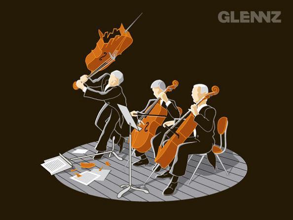 smashing celo 25 Hilarious Illustrations by Glennz