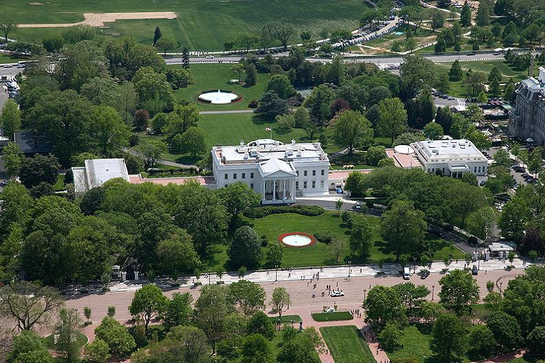 aerial of the white house 5 Buildings So Big They Have Their Own ZIP Code!