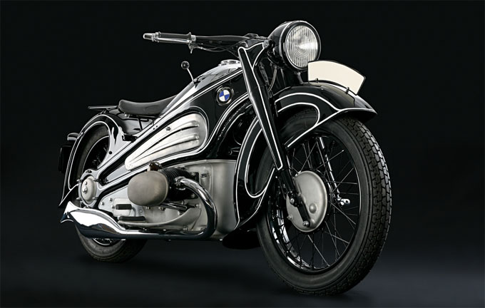 art deco bmw r7 motorcycle Incredible Gallery of Art Deco Vehicles