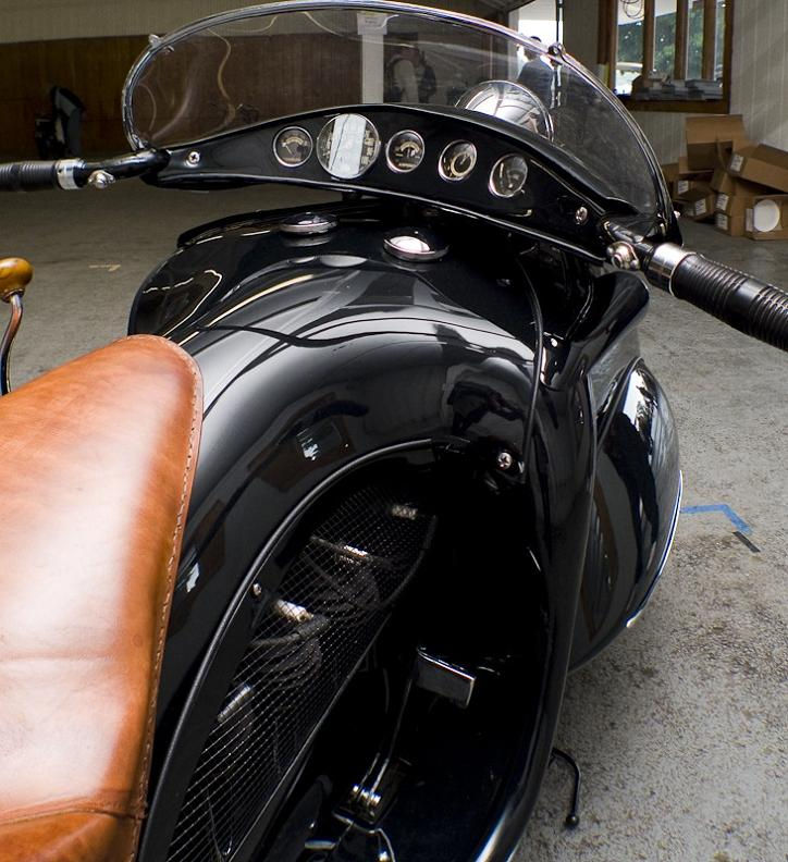 art deco motorbike henderson black Incredible Gallery of Art Deco Vehicles