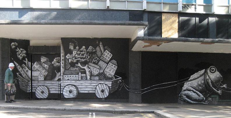 artist phlegm Incredible Street Art Illustrations by Phlegm