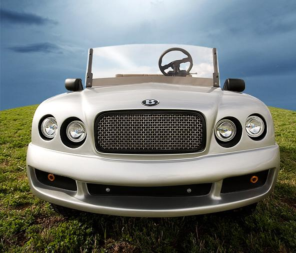 bentley front Top 10 Customized Luxury Golf Carts