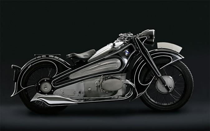 bmw r7 motorbike art deco rare Incredible Gallery of Art Deco Vehicles