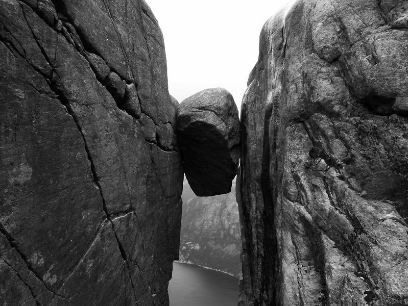 crazy boulder in norway The Stunning Cliffs of Norway