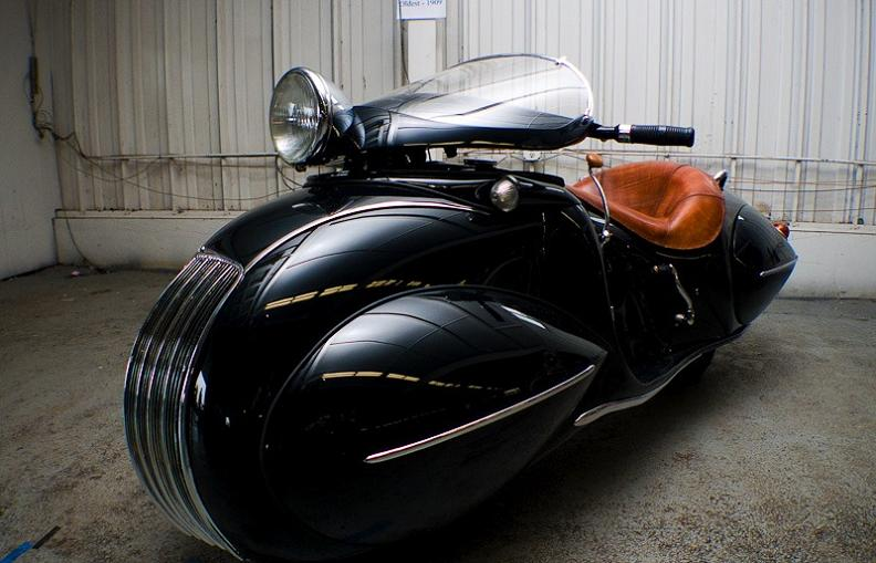 crazy retro art deco bike Incredible Gallery of Art Deco Vehicles