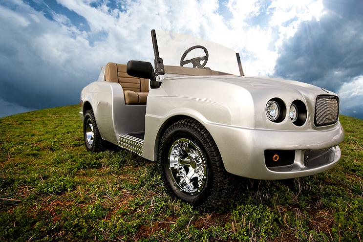 customized bentley golf cart Top 10 Customized Luxury Golf Carts