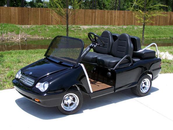customized benz golf cart Top 10 Customized Luxury Golf Carts