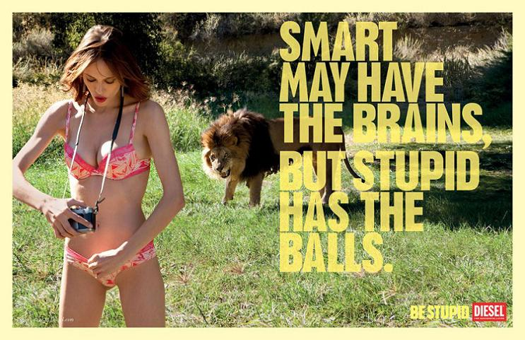 diesel stupid ad campaign This Diesel Ad Campaign is REALLY Stupid [21 Pics]