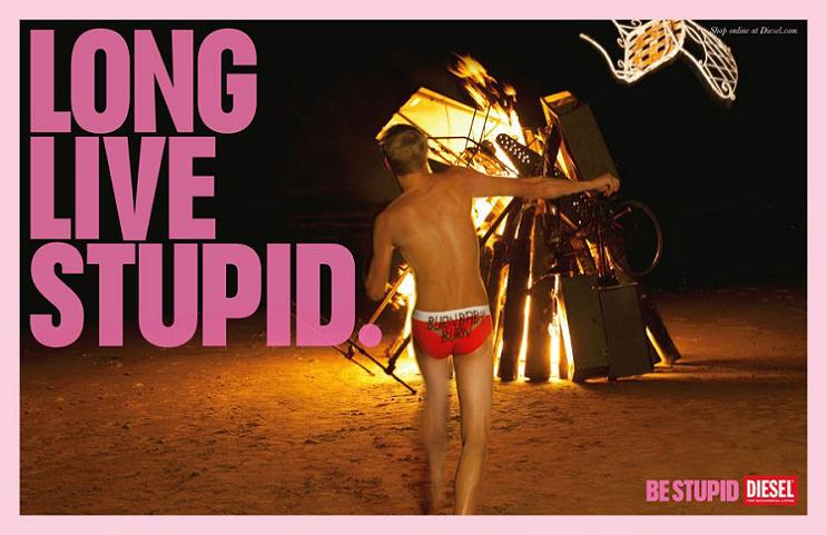 diesel stupid print ad This Diesel Ad Campaign is REALLY Stupid [21 Pics]