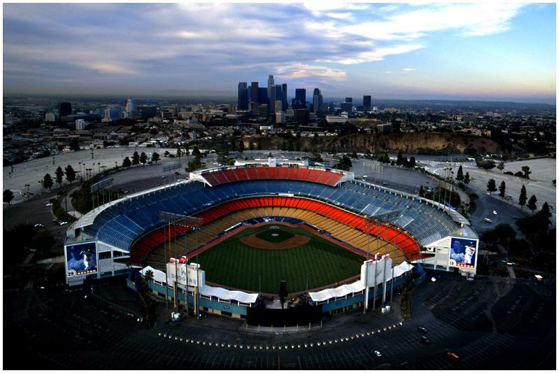 dodger stadium empty 5 Buildings So Big They Have Their Own ZIP Code!