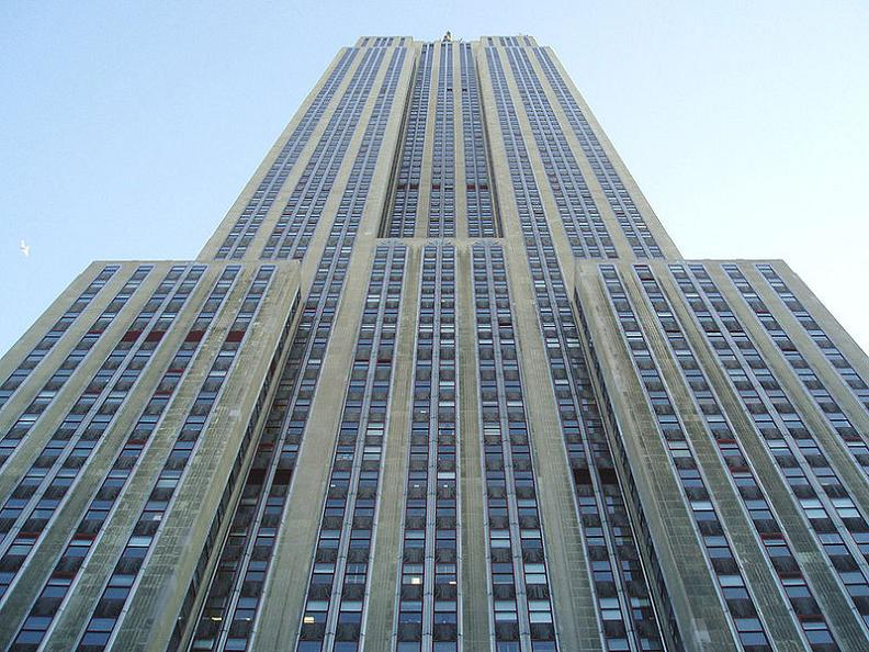 empire state building looking up 5 Buildings So Big They Have Their Own ZIP Code!