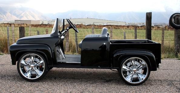 ford pick up truck golf cart Top 10 Customized Luxury Golf Carts