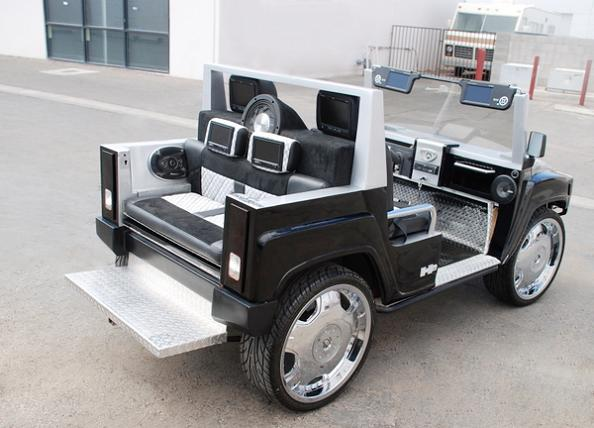 fully customized hummer golf carts Top 10 Customized Luxury Golf Carts