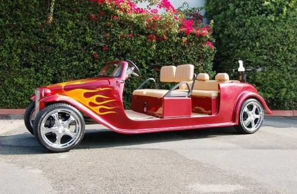 golf cart roadster Top 10 Customized Luxury Golf Carts