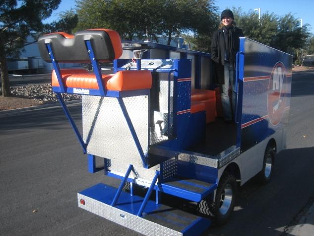golf cart zamboni new york islanders Top 10 Customized Luxury Golf Carts