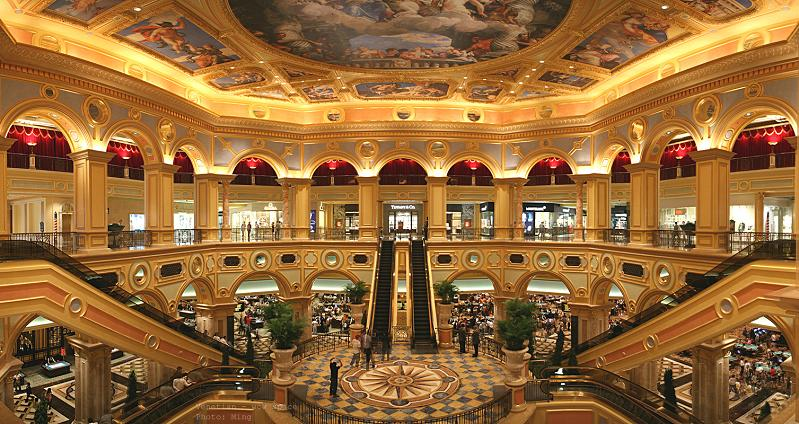 The worlds largest casino venetian macao twistedsifter great staircases at venetian macao altavistaventures Images