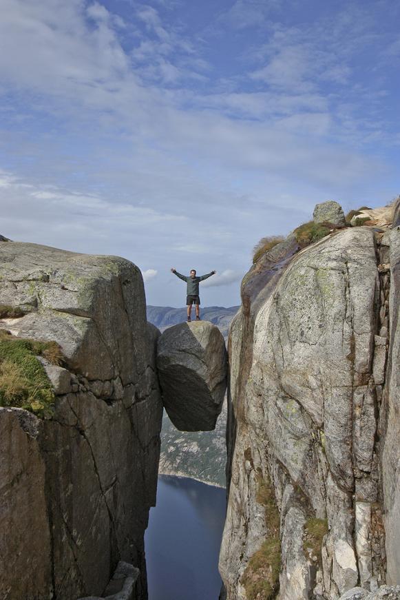 kjeragbolten norway The Stunning Cliffs of Norway