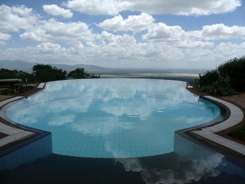 lake manyara serena lodge tanzania infinity pool 25 Stunning Infinity Pools  Around the World