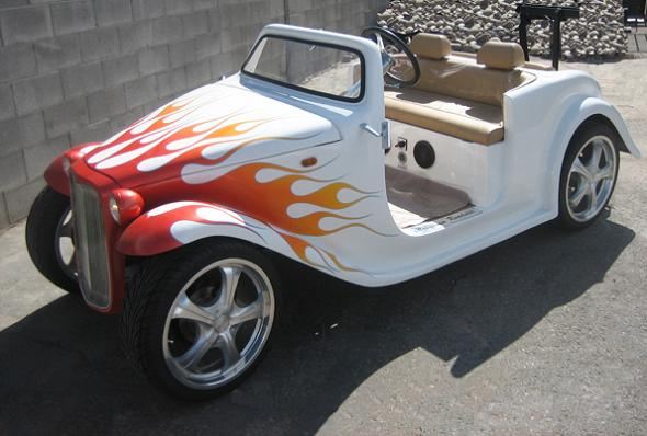 luxury roadster golf cart Top 10 Customized Luxury Golf Carts