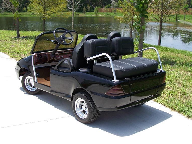 mercedes benz golf cart Top 10 Customized Luxury Golf Carts