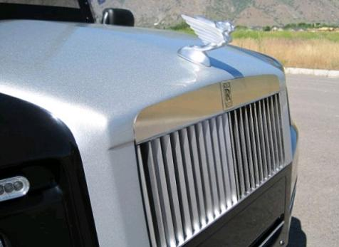 rolls royce phantom customized golf cart Top 10 Customized Luxury Golf Carts