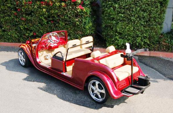 stretch roadster luxury golf cart Top 10 Customized Luxury Golf Carts