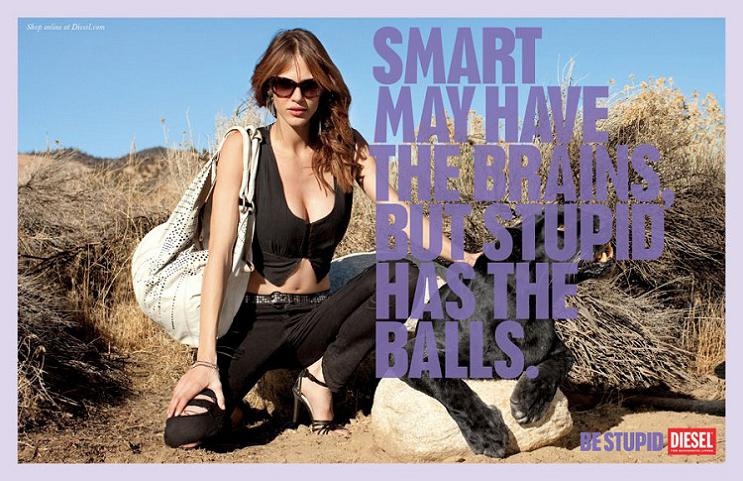 stupid diesel ad This Diesel Ad Campaign is REALLY Stupid [21 Pics]