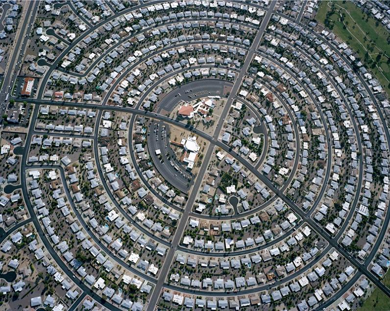 urban sprawl aerial arizona subdivision Urban Sprawl in the United States: 10 Incredible Aerials