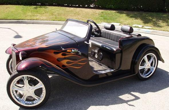 vintage roadster golf cart Top 10 Customized Luxury Golf Carts