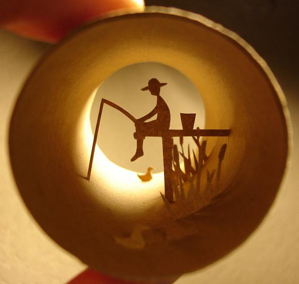 1 anastassia elias toilet paper roll art Beautiful Miniature Paper Art Scenes [30 pics]