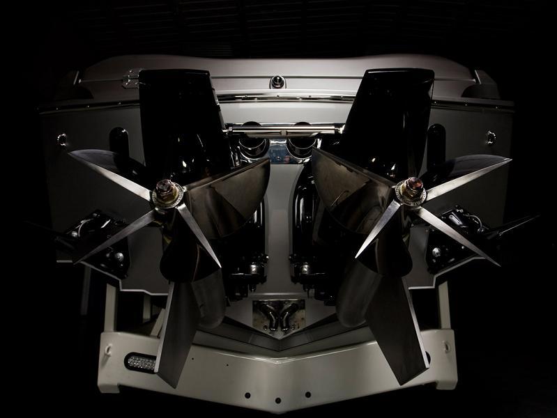 1350 hp mercury engine top of the line $1.2 Million 1,350 HP Mercedes Benz SLS AMG Cigarette Boat
