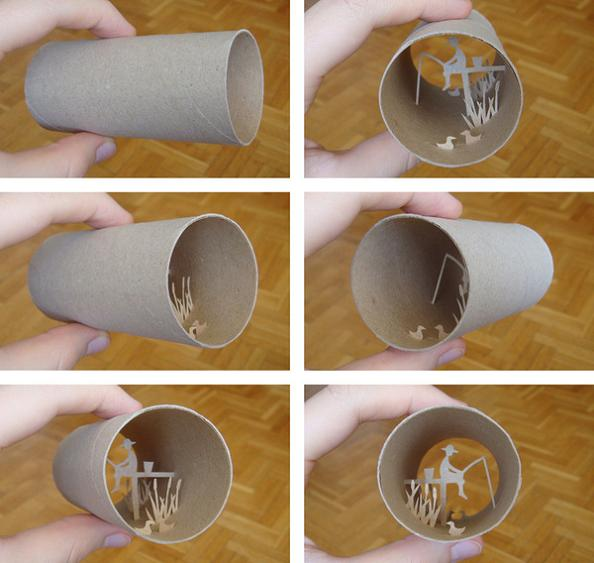 2 anastassia elias artist Beautiful Miniature Paper Art Scenes [30 pics]
