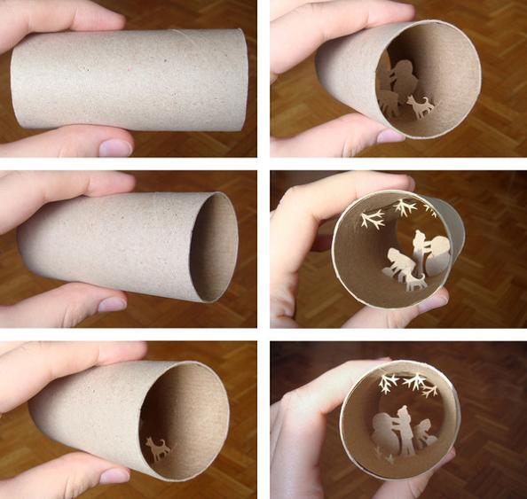 22 empty tp roll art Beautiful Miniature Paper Art Scenes [30 pics]